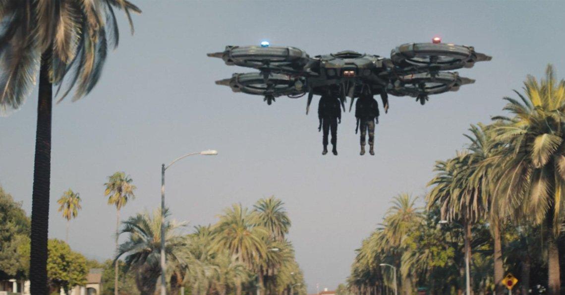 Dronesnl On Twitter Code 8 A Film With Futuristic Police Drones Tco Fzwv0qIB2I YxyhaDYzD5