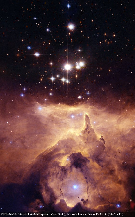 NGC 6357: Cathedral to Massive Stars: https://t.co/qmTZfjDGbA by @NASA @esa @hubble_space https://t.co/IXlUag0AhT