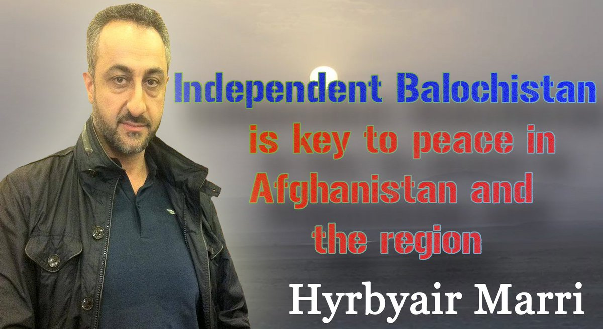 Independent #Balochistan is key to peace in #Afghanistan & the region  #Hyrbyair #27MarchBlackDay @AmrullahSaleh2pic.twitter.com/KmO72KV5Vl