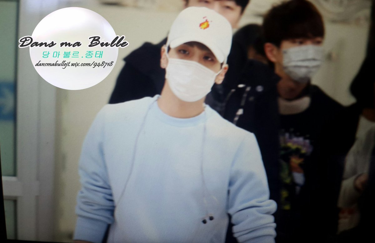 160327 Jonghyun @ Aeropuertos Haneda - Gimpo {Regreso a Corea} Cehco7eW4AAeyfA
