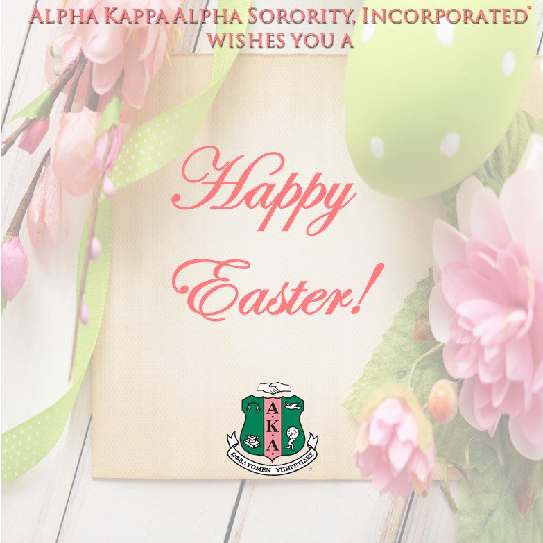 Alpha kappa alpha on twitter alpha kappa alpha sorority wishes you alpha kappa alpha on twitter alpha kappa alpha sorority wishes you a joyous and happy easter aka1908 httpstm4a81fzvga m4hsunfo