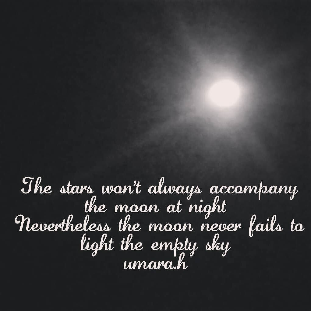 Be Inspired On Twitter No Stars In Sight Means A Moon Shining