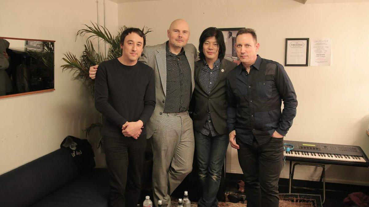 Jeff + Billy + James + Jimmy 3/26/2016 @SmashingPumpkin https://t.co/gC7v6I1VHr