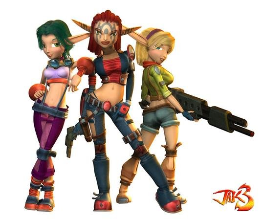 Jak And Daxter On Twitter Ashelin Keira And Tess Follow Me