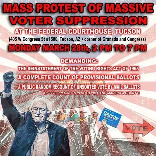 Pls #RT Make it go viral! @NewsTucsonAZ @TucsonNewsNow @KVOA @TucsonStar @NWSTucson @abc15 #ArizonaVoterFraud @CNN https://t.co/ms7hpLtFar