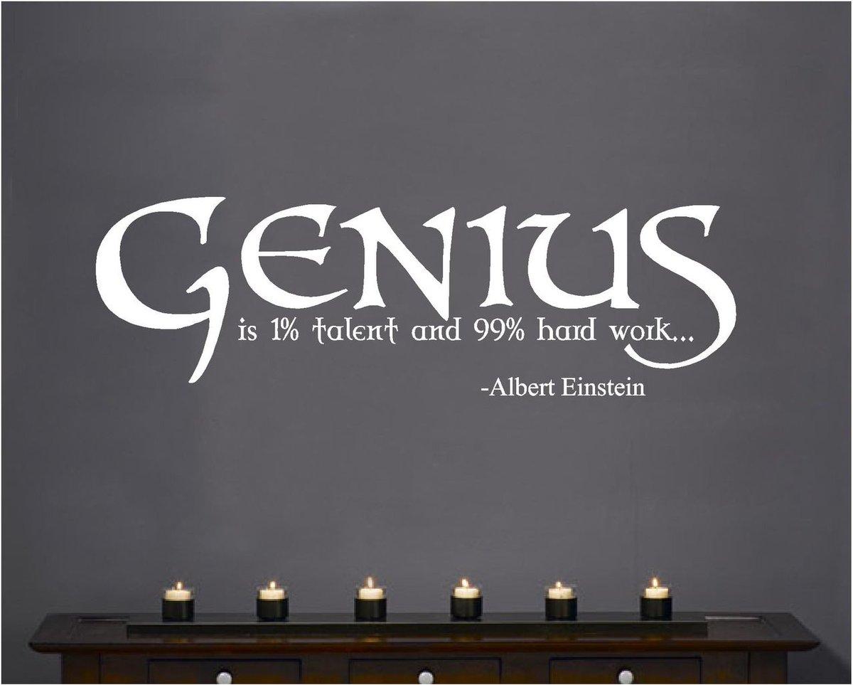 Ian Green On Twitter Genius Is 1 Talent And 99 Percent Hard