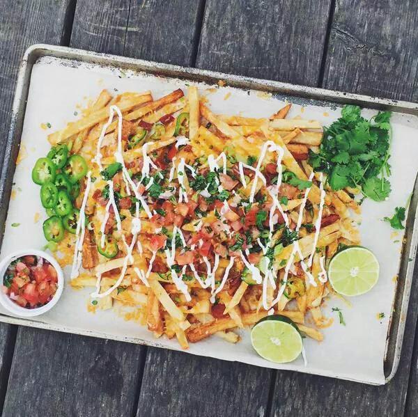 Homemade Bacon Nacho Fries. https://t.co/EeIM6XKy2g