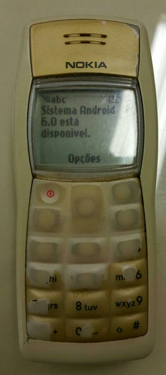 Até que enfim saiu a atualização para o meu #Android #Nokia https://t.co/KvqLjvGZCN