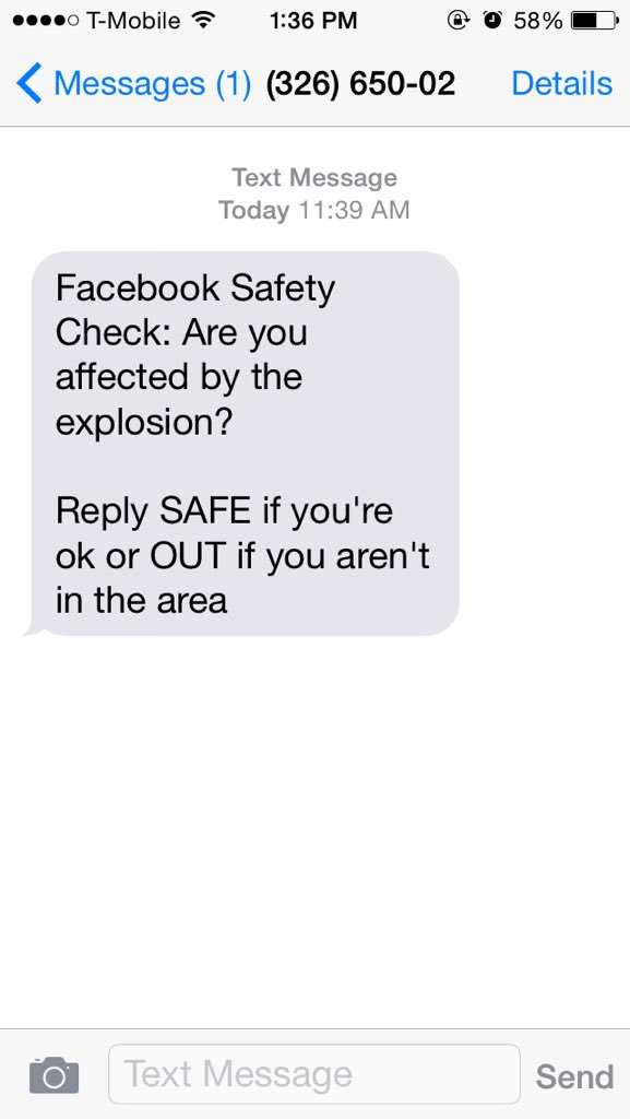 Facebook apologises for sending Lahore bomb 'safety check' to users around the world