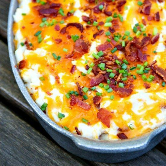Bacon And Cheese Mashed Potatoes. https://t.co/Jkc2JzRzQN