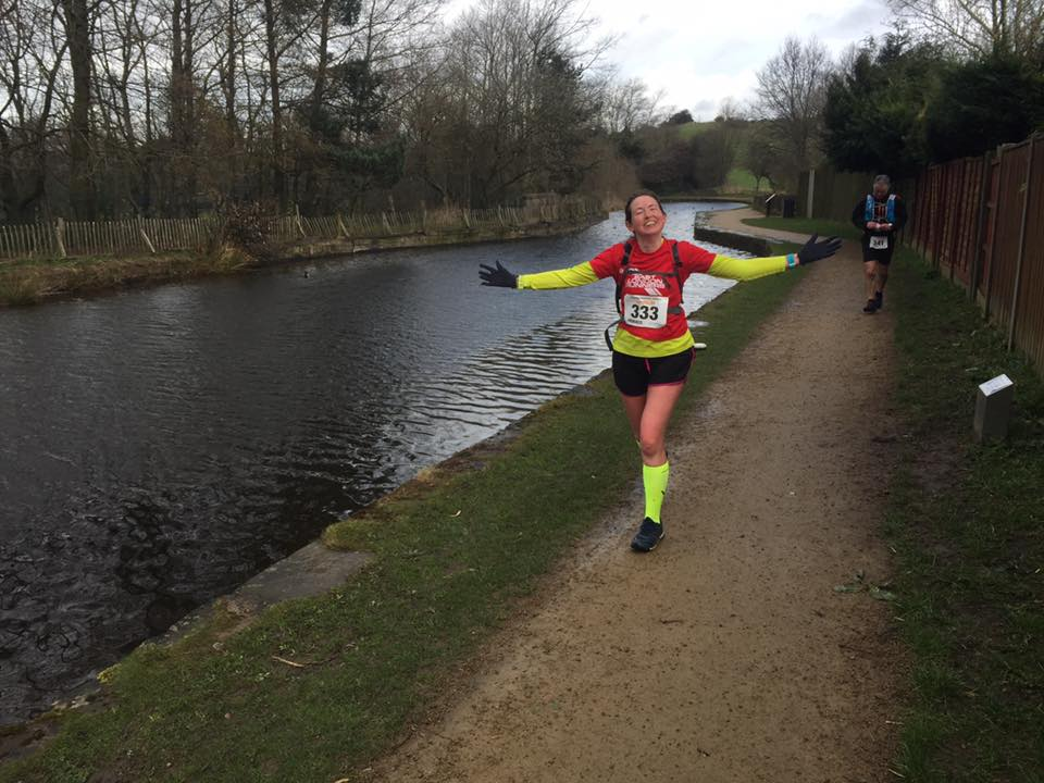 ae2c5de7eab75 Congratulations to Maud Hodson of East London Runners in completing the  100k Canalathon Ultra in 13.03.25