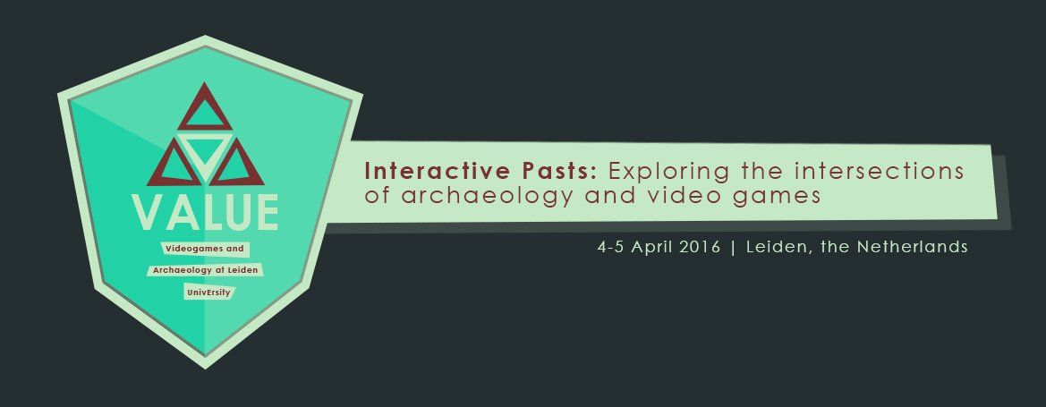 The Interactive Pasts Conference is coming! 4-5 April, Leiden #archaeogaming #TIPC https://t.co/IQ7mLhYGzA https://t.co/OAuNCZHFKs