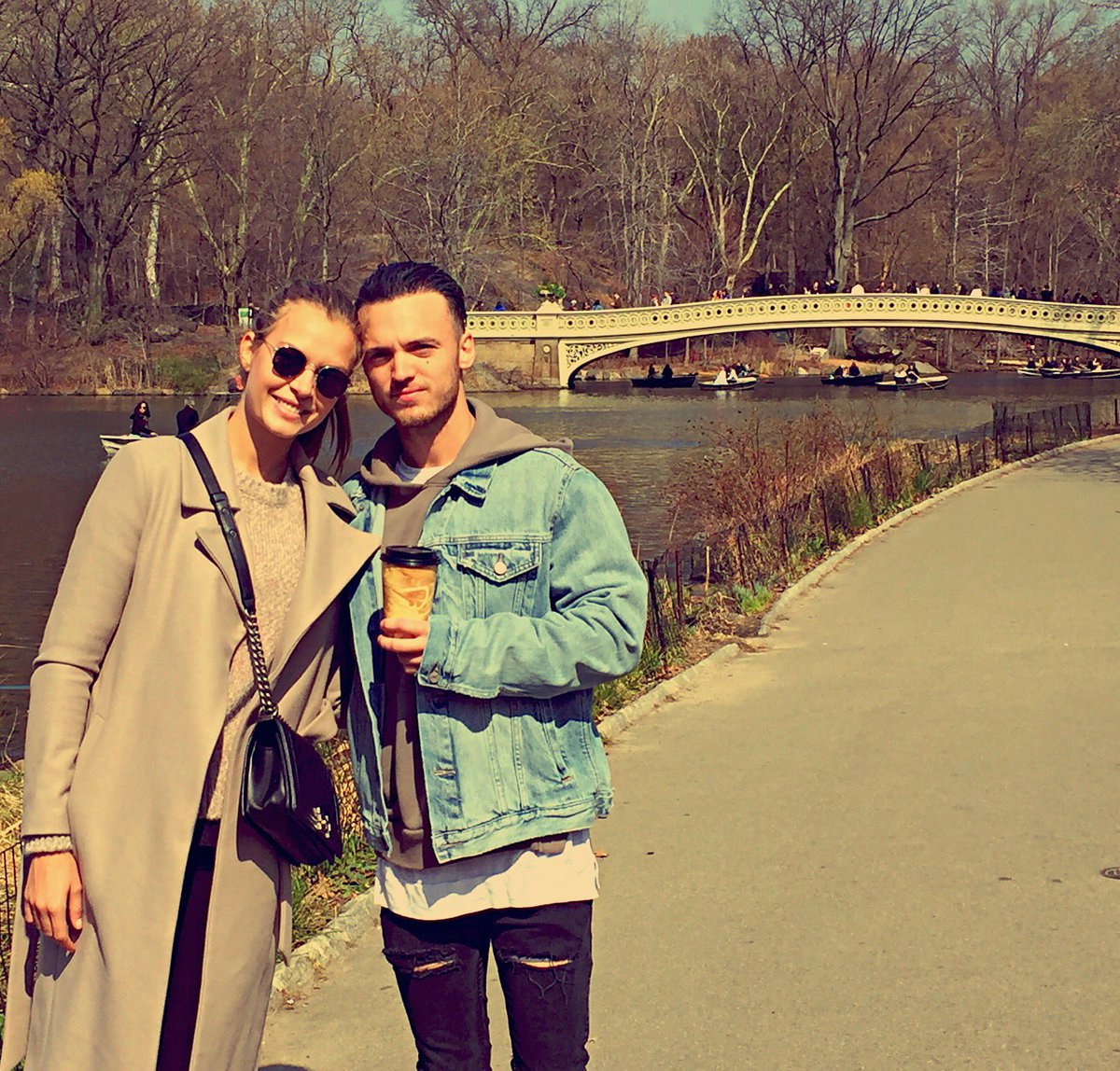 Thanks to these two, @bohnes and @JosephinSkriver , for spoiling us in New York this week. Love you❤️ #centralpark https://t.co/y4CiFuOkha
