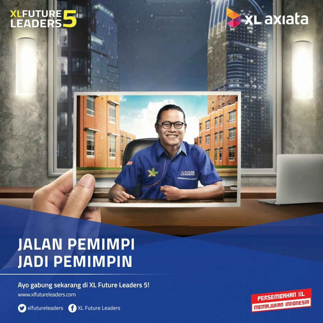 Beasiswa XL Future Leaders 5 2016