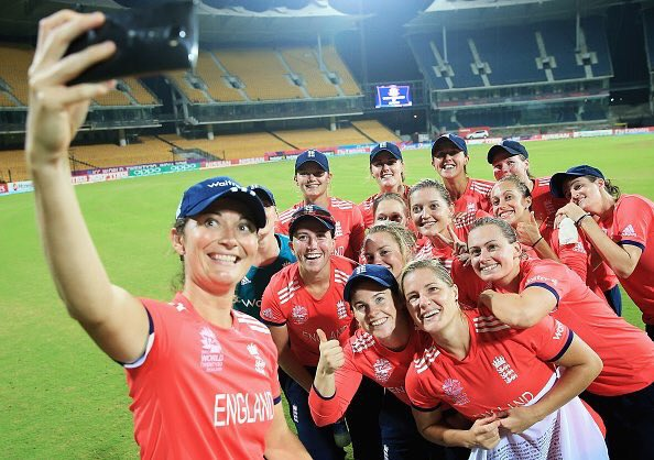 Thanks to everyone for all their messages of support...off to Delhi ✈️ #semifinals #WT20 https://t.co/kAci6ybTgs