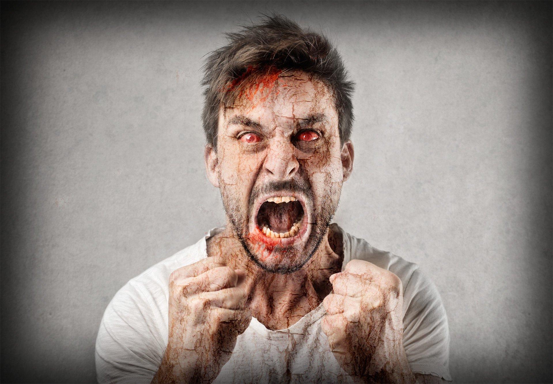 него злой зомби картинка профессиональные болезни