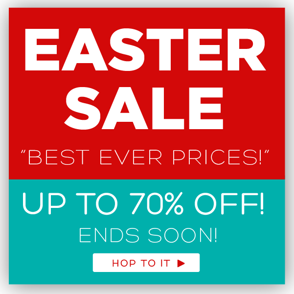 Only 24 Hours Left in our Easter sale - shop now for up to 70% off https://t.co/j8tla00sFv https://t.co/igbiS6Puy5