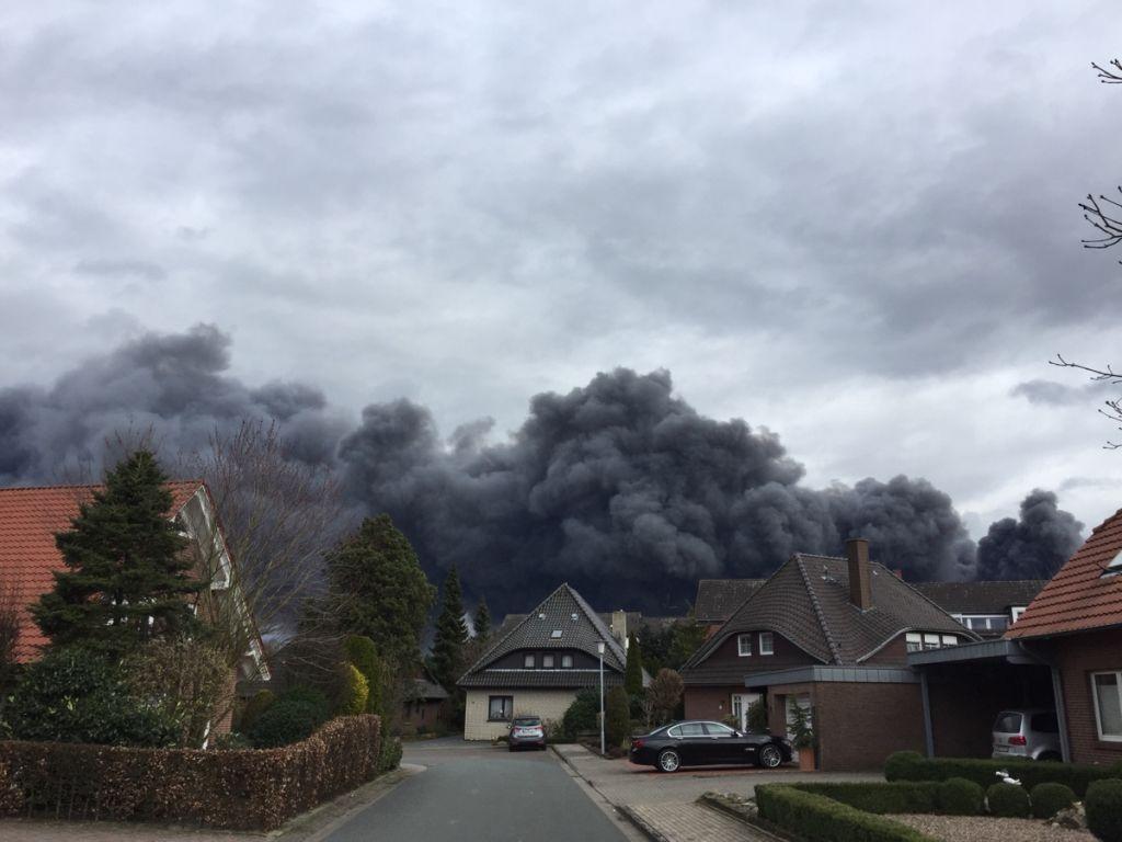 Grossbrand Bei Wiesenhof