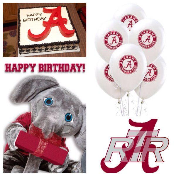 1 Bama Dude on Twitter Good morning and Happy Birthday to