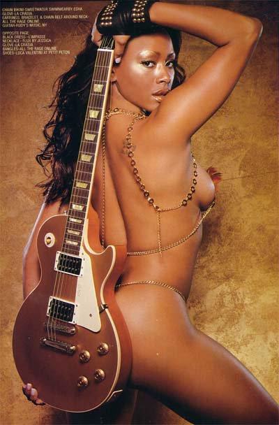 Ashanti sexy poster
