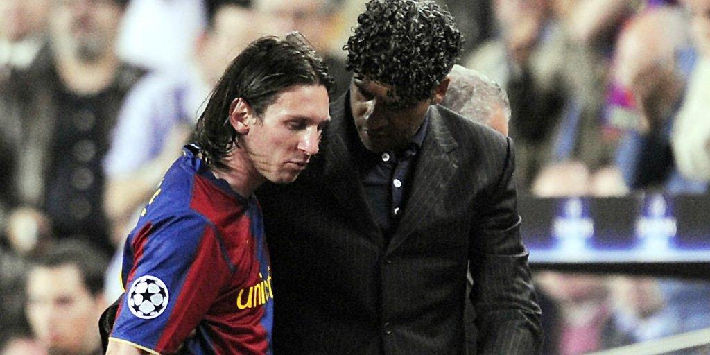 Lionel Messi Frank Rijkaard : Lionel Messi calls Frank Rijkaard manager career   theScore   Scoopnest