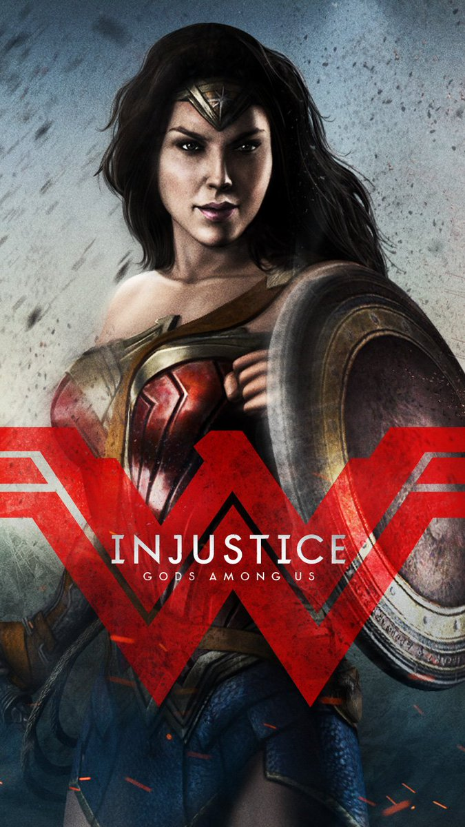 Injustice2 Pa Twitter Dawn Of Justice Wonder Woman Wallpaper For