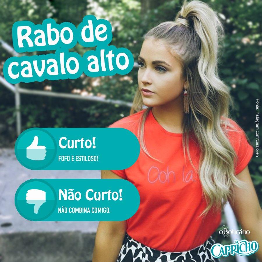 #VemVer: um dos penteados favoritos da #diva Ariana Grande virou sucesso por aí! Quem curte? #OBoticarioCH https://t.co/iNkopFwOY1