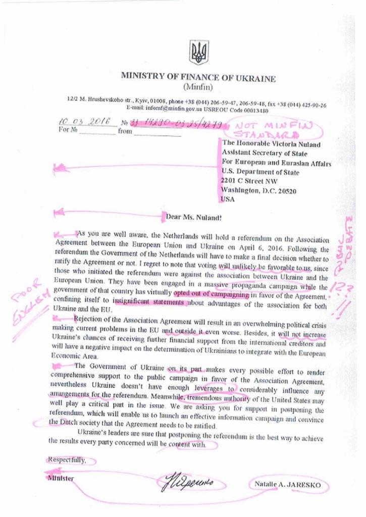 Яресько спростувала фейк російських ЗМІ про лист до США - фото 1