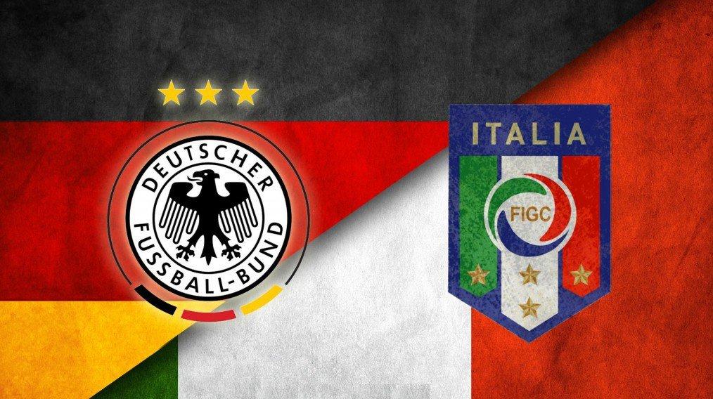 GERMANIA-ITALIA Streaming, vedere Diretta Calcio Gratis Oggi in TV