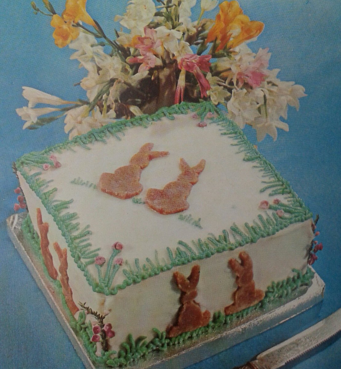 Sindy Loves Vintage On Twitter 70s Easter Birthday Cake For
