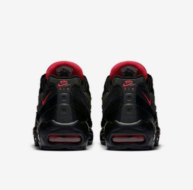 nike air max 95 black challenge red