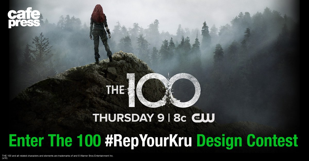 Win a poster signed by the @cwthe100 cast and more in our #RepYourKru design contest!  https://t.co/R1uJ28Vn0P https://t.co/v5dVH4Inq4