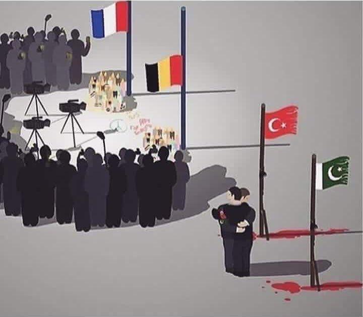 Forgotten victims of terror! #LahoreBlast #BrusselsAttacks #ParisAttacks #PrayForLahore #Pakistan