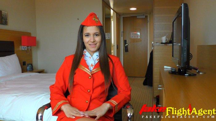 Fake Flight Agent on Twitter: Pretty New Air Stewardess