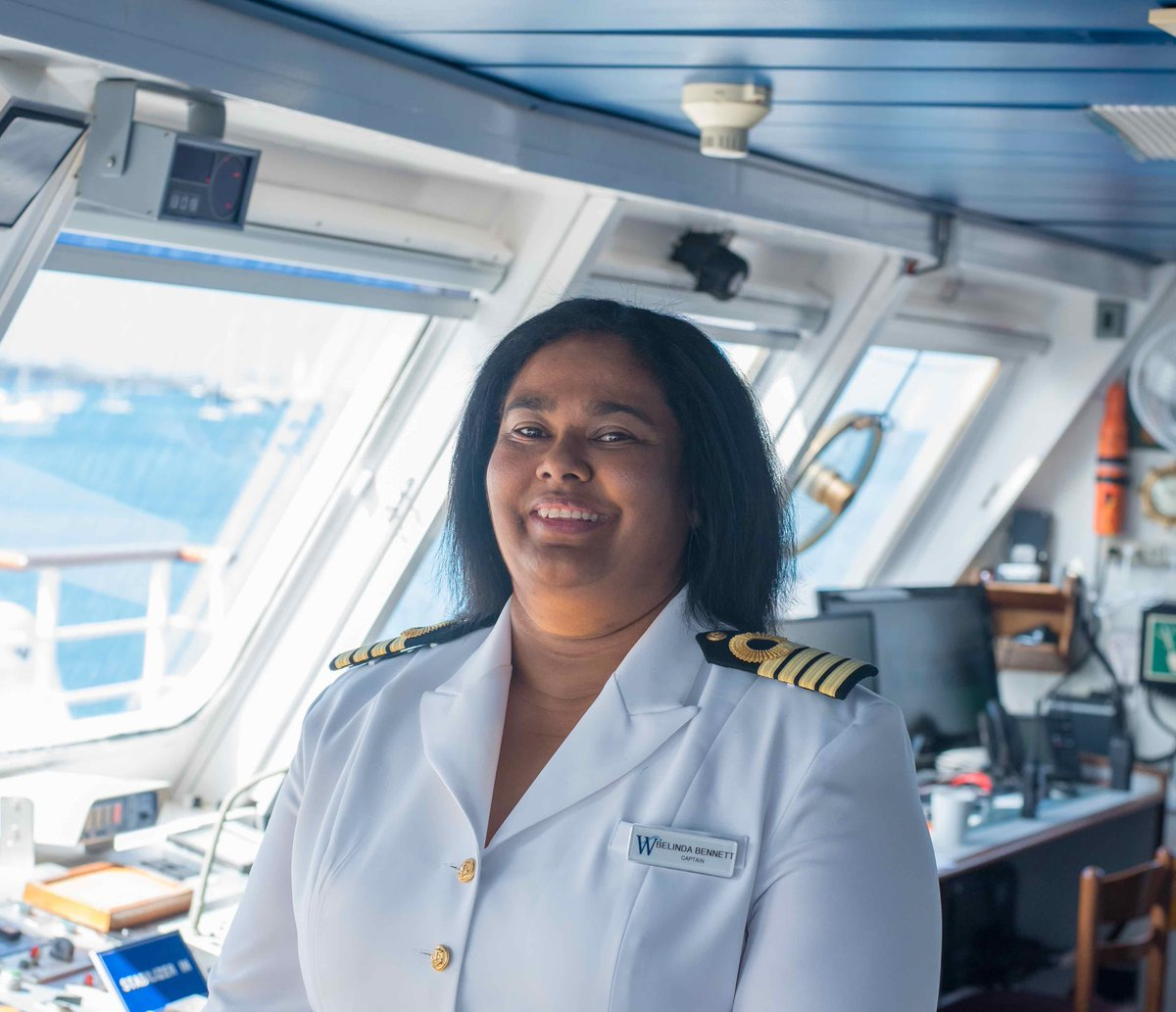 Seatrade Cruise News On Twitter WindstarCruises Belinda - How to be a cruise ship captain