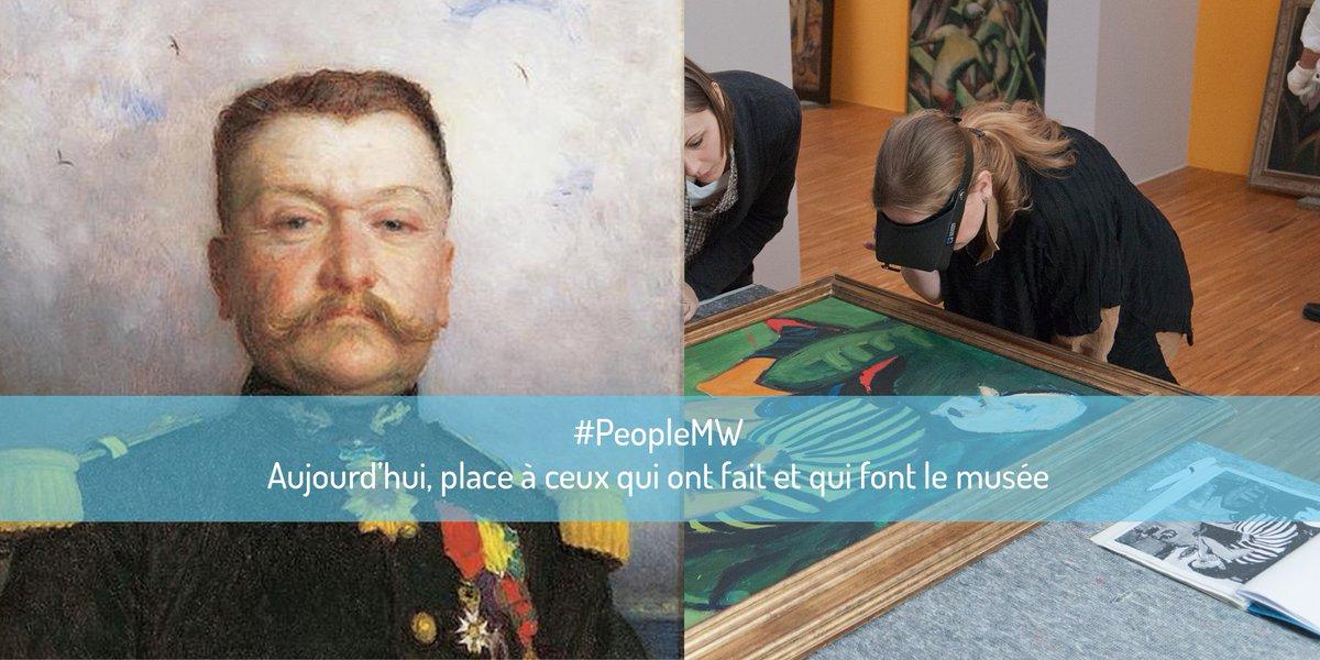 Aujourd'hui, place à ceux qui ont fait et qui font le musée #PeopleMW https://t.co/WjqCaIpdP8
