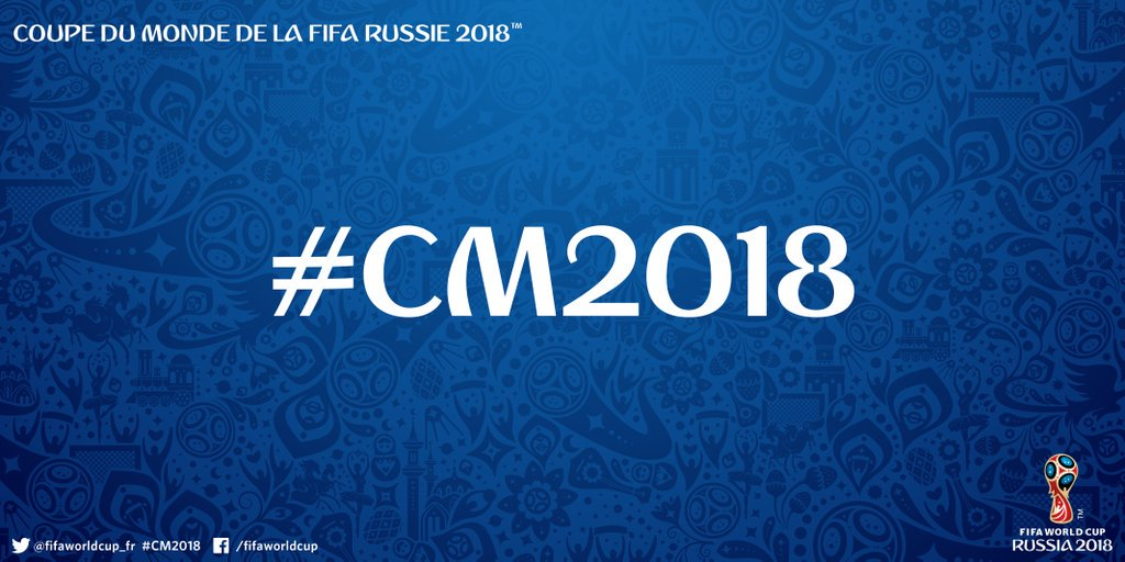 FOOT MASCULIN COUPE DU MONDE 2018 - Page 2 CesxyOxW4AkweaU