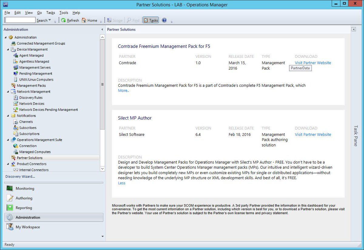 Operations Manager Console Download