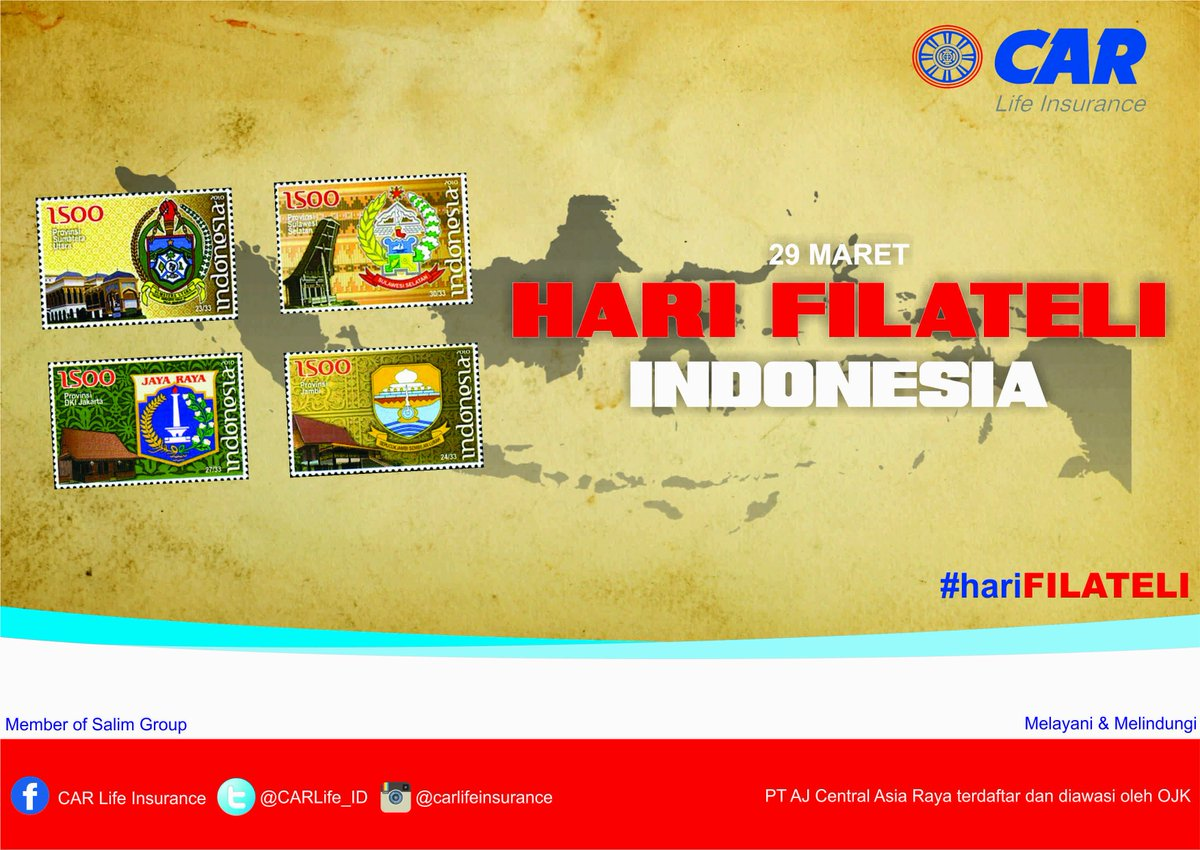 Car Life Insurance Auf Twitter Selamat Hari Filateli Indonesia 29 Maret 2016 Harifilateli Https T Co Ydd94hqmei