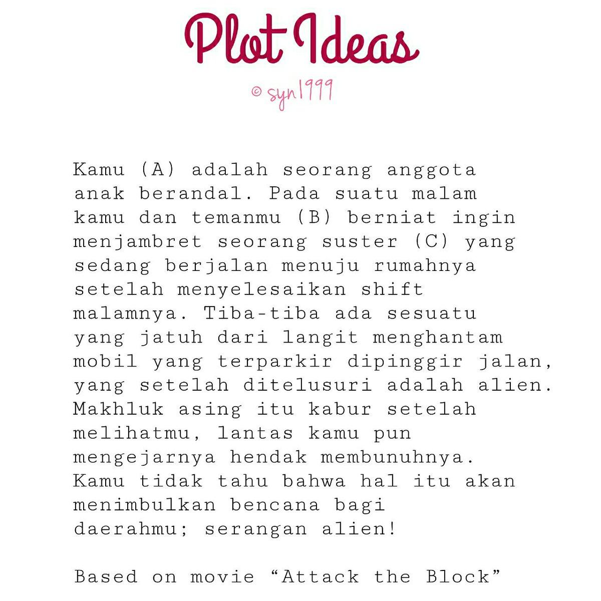 Plot Ideas. on Twitter: