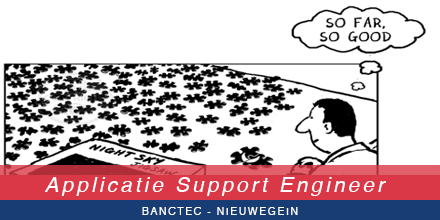 Wij zoeken in #Nieuwegein een Applicatie Support #Engineer. Bekijk de #vacature https://t.co/odL7EQPe2h #ICT #IT https://t.co/uTOyDtvSMa