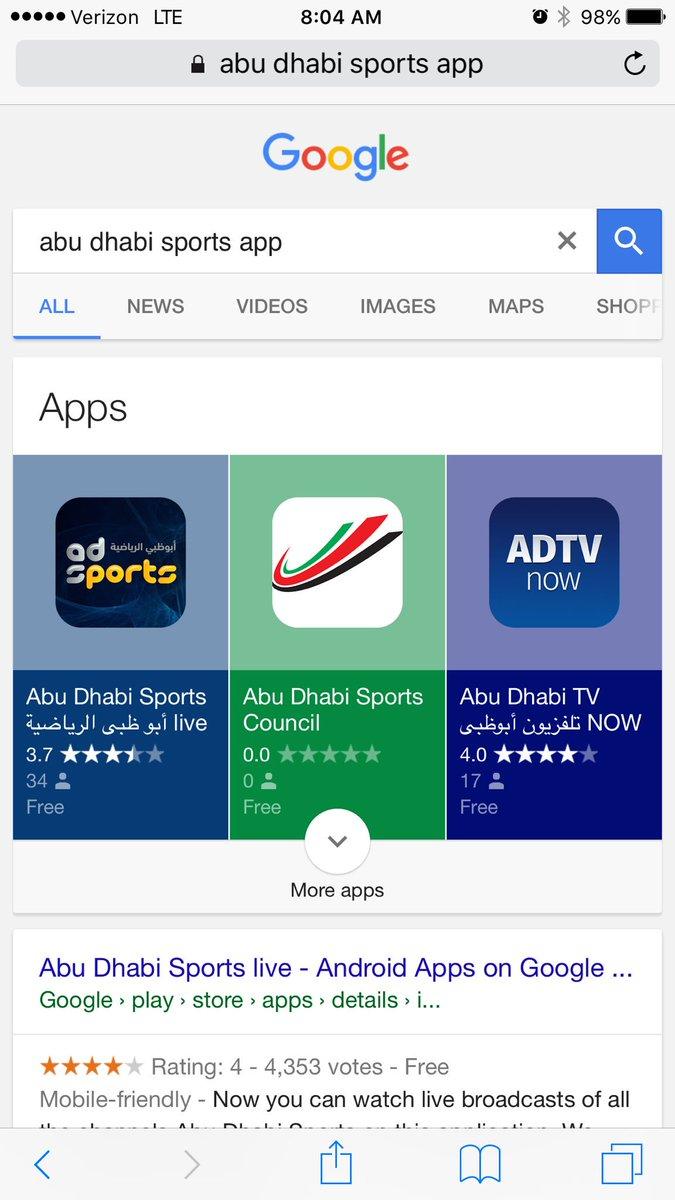 Top Five Abu Dhabi Sports 4 Live Stream - Circus