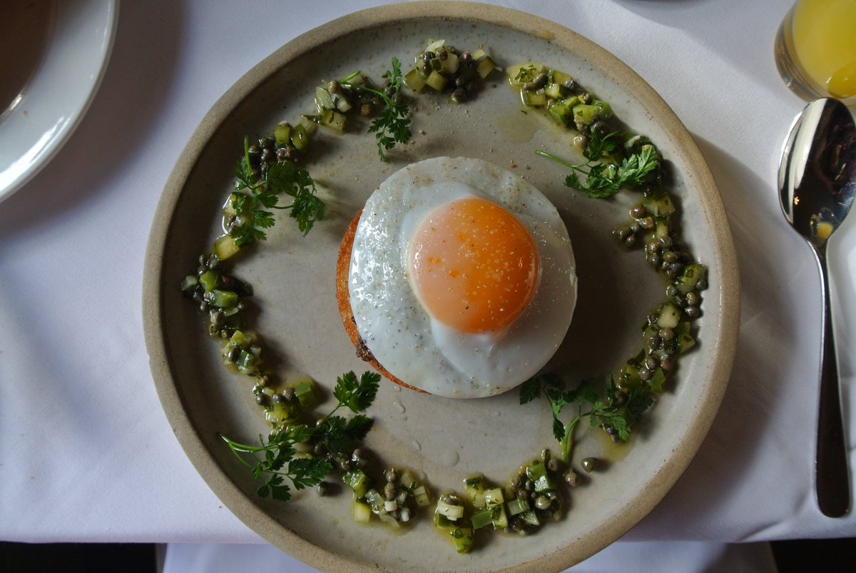 Haggis, Duck Egg & Salsa Verde at @JesmondDeneHous https://t.co/CLlUrqnbFZ #NorthEastHour #Newcastle #Foodie https://t.co/aXwfy2qL6h