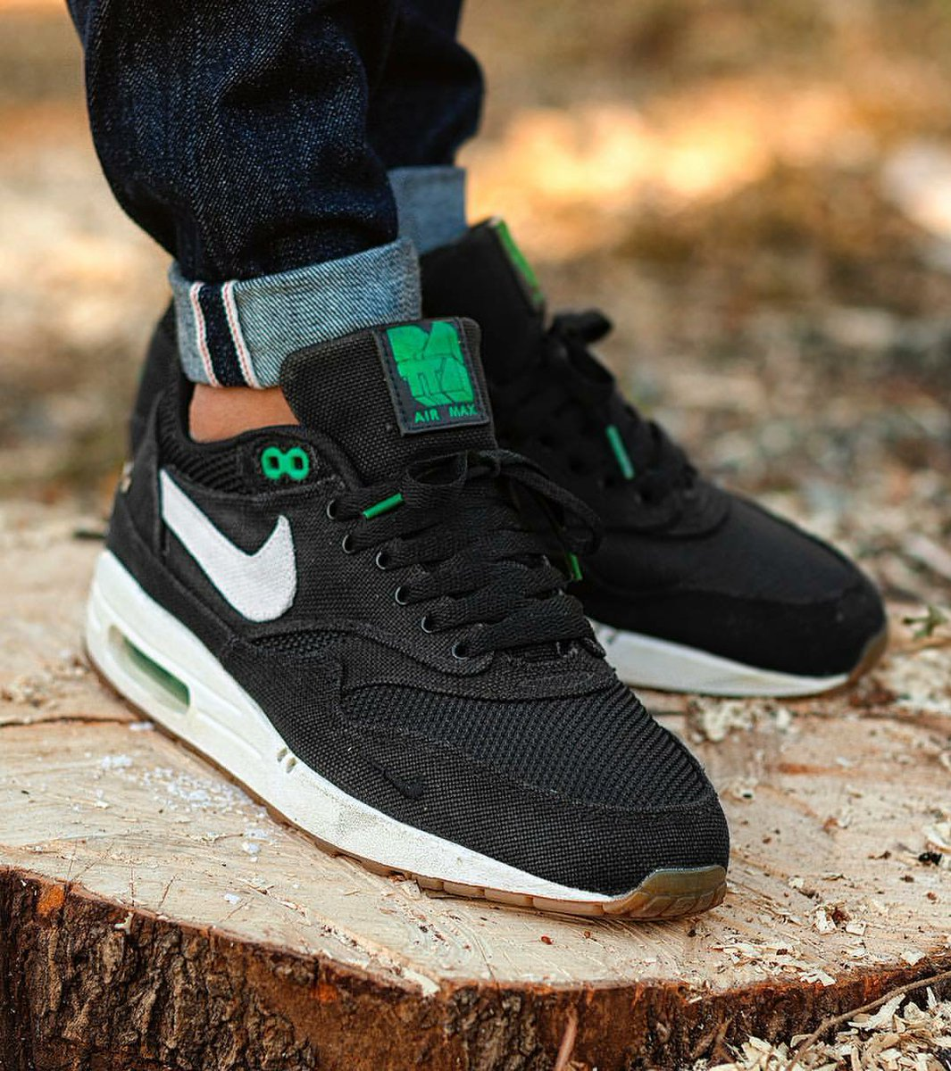 c343ac7209 ... cheap sneakers game on twitter nike air max 1 x patta lucky green 2009  t.