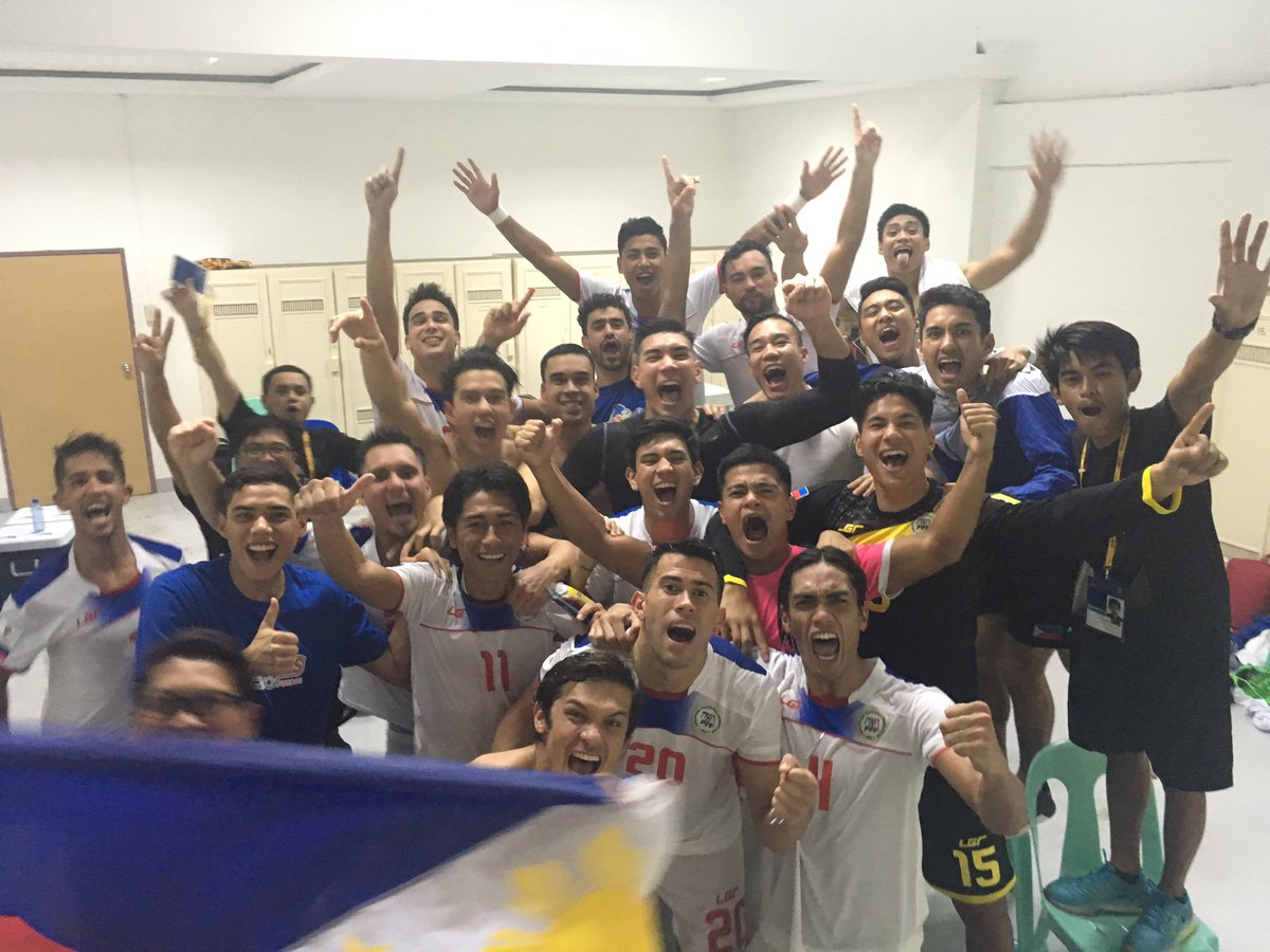 What a win tonight! That was magical! Thank you to everyone who supported and watched! It was amazing #Azkals #NE1 https://t.co/MfO3VnuOcv
