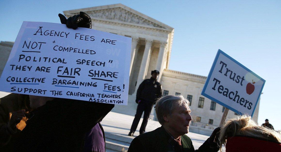 Supreme Court deadlocks in key labor case https://t.co/1Vv7UwkVTC | Getty https://t.co/oBK8B036P5