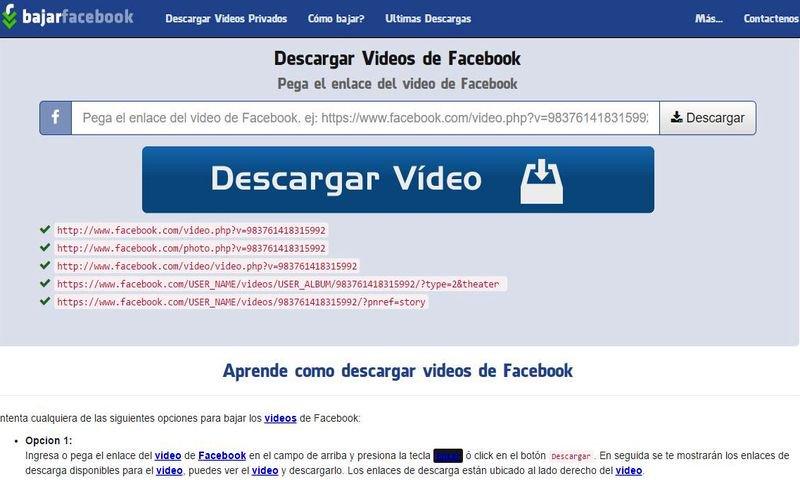 Bajar vídeos de Facebook con esta utilidad web - https://t.co/st9t8t6EfI #Facebook https://t.co/Q3duEni5T8
