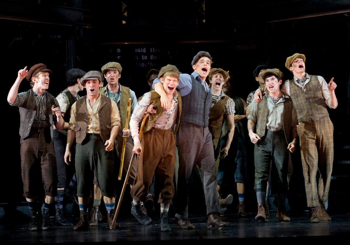 4 years ago @Newsies opened on #Broadway! Did you see #Newsies at Paper Mill Playhouse? #Fansies https://t.co/0PDeT6M7Zy