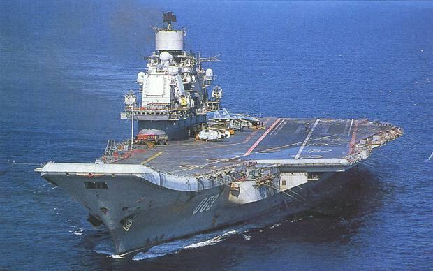 アドミラル・クズネツォフ級重航...