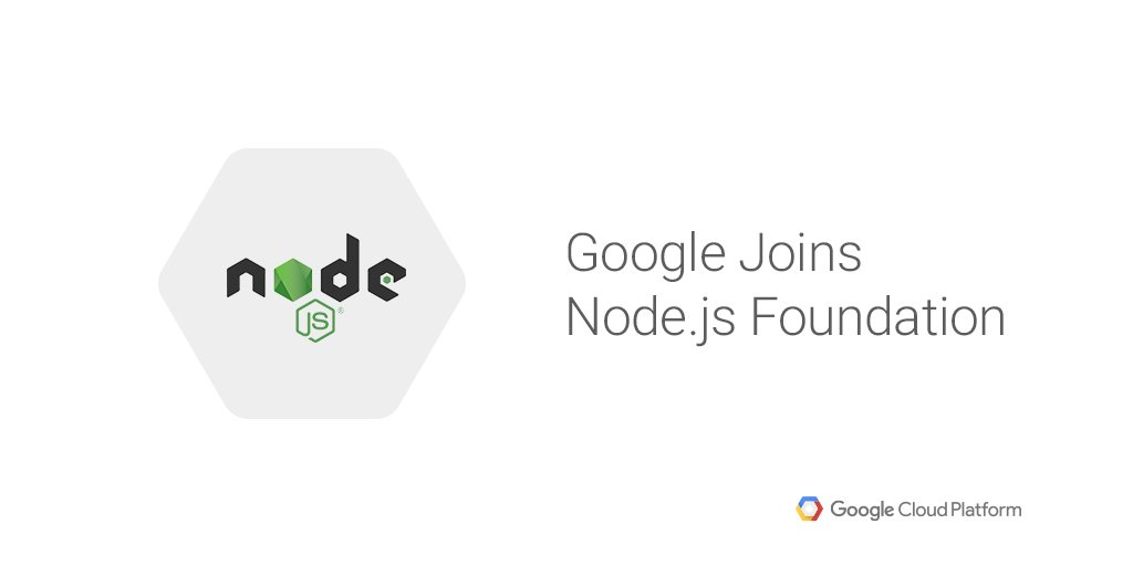 We're excited to join the @nodejs Foundation—and to help #nodejs keep growing. Learn more: https://t.co/TFy7uH8THY https://t.co/lTeo5XtL6s